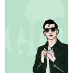 ltd edition Alex Turner artwork at at https://t.co/ZwBlVaU89o #Sheffieldissuper #iLoveS ideal xmas gift https://t.co/iJo6dU0Zlh