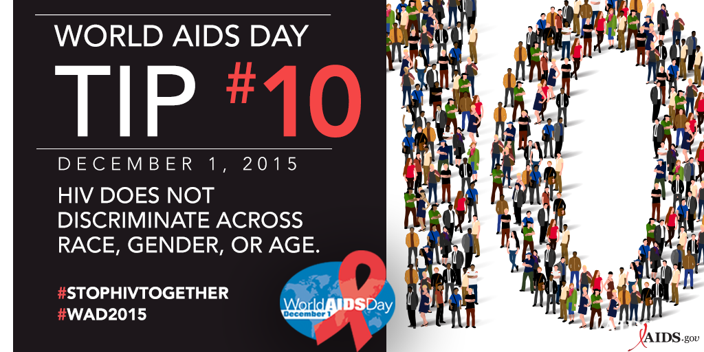 On WorldAIDSDay2015, let's commit to defying #HIV #stigma. Let's #StopHIVTogether: https://t.co/JM6kOaXg18 #WAD2015 https://t.co/C1mJ5W6qNd