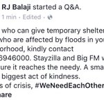 Call 044-46946000. One small room cld b d biggest act of kindness. In times of crisis, #WeNeedEachOther #PlzShare https://t.co/ZKRQsgiSRI