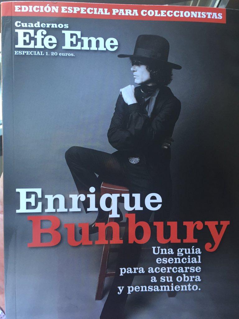 BRU TAL @revista_efeeme  Maestro BUNBURY. https://t.co/fYAD95oQCf