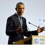 .@POTUS remarks at #COP21: Threat of climate change could define contours of this century → https://t.co/Di5FKQF4md https://t.co/BRS6GtmCkZ