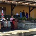 ¡Buenos días! Hoy homenajeamos la Abolición del Ejército en Costa Rica, desde las instalaciones del Museo Nacional https://t.co/VlYu9Mch5U