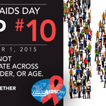 Join the global commitment to end #HIV. Check out #WAD2015 10 TIPS to inspire you to act. https://t.co/w4LU7w6CO0 https://t.co/jPEl9yY1jD