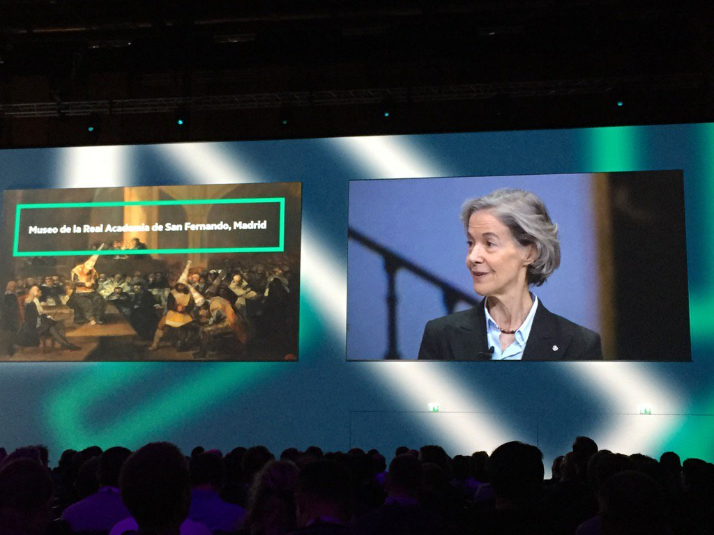 Nice spotlight on @HPE customer Museo de la Real Academia de San Fernando from Madrid #HPEDiscover @HPE_Discover https://t.co/au1v87ECl5
