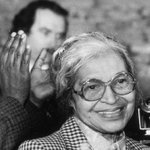It's been 60 years since Rosa Parks refused to give up her seat on a bus. https://t.co/OSKKEj4RlI https://t.co/qQgrIWxDqn