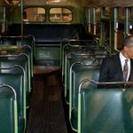 "Obama: ""60 years ago today, Rosa Parks changed America"" https://t.co/jdxUyL9Cpc https://t.co/RYrirlRK91"