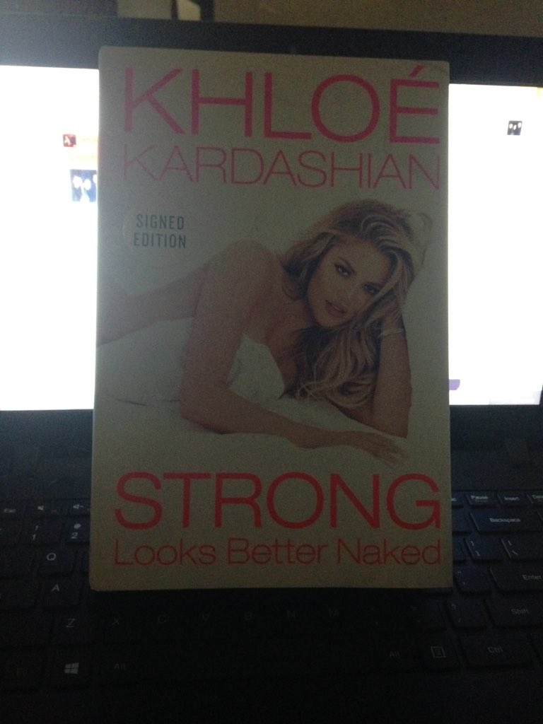 RT @LabOfHookers: @khloekardashian your book is amazing!! I have the signed copy ❤️❤️ #StrongLooksBetterNaked https://t.co/IqajYgcuEE