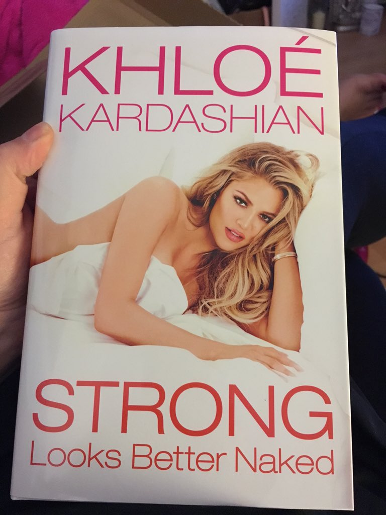 RT @Claire_MUA: I know what I'm going to be reading tonight ???????? @khloekardashian #StrongerLooksBetterNaked ???????????????????????? https://t.co/ixV6JuEnPf
