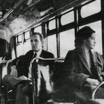 60 years ago today, Rosa Parks refused to give up her seat on the bus.Her courage still inspires us today. #OMGDavid https://t.co/lDOrANqpH1