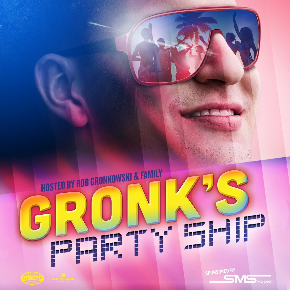 check this out go to the Gronk Island for FREE with @RobGronkowski and @SMSAUDIO : https://t.co/hJTQGmzG1y https://t.co/cgeTXcpGEg
