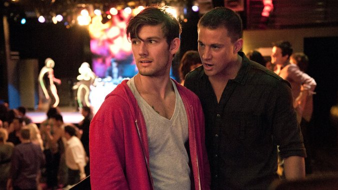 Alex Pettyfer Reveals Story Behind Channing Tatum MagicMike Feud