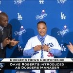 .@MLBNetwork brings you LIVE to Los Angeles as the @Dodgers introduce Dave Roberts as their new manager. https://t.co/2RfpoIe67E