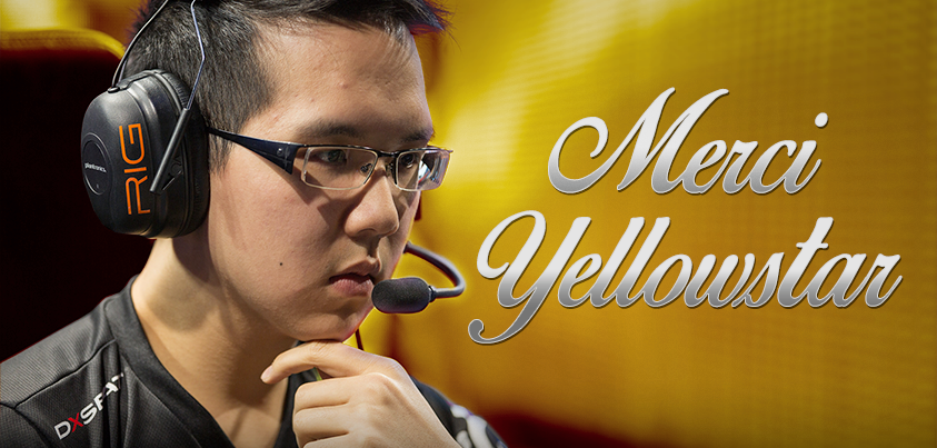 Today we announce the departure of a Fnatic legend. Merci, @FnaticYellOwStR! READ » https://t.co/mYVWpcbHJr https://t.co/g29fE9ICch