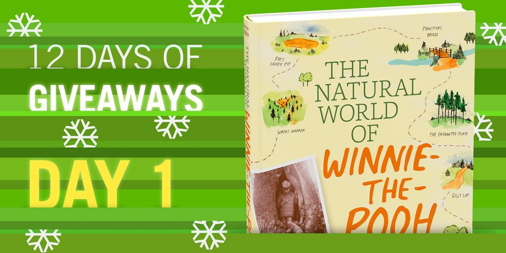 12 Days of Giveaways BEGINS NOW The Natural World of Winnie-the-Pooh Follow & RT to win! https://t.co/1qguLMeL1x https://t.co/eqW38LHOc3