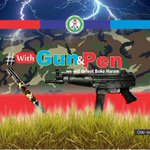 Terrorists make citizens lose their peace & trust in the #military. However #withGunandPen well defeat Boko Haram! https://t.co/3oidiTTpoY