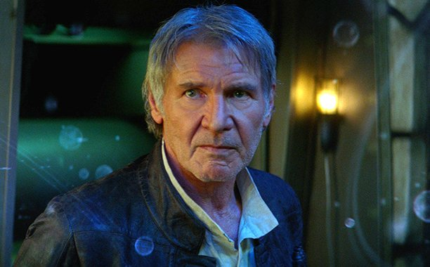 Harrison Ford describes revisiting Han Solo, the StarWars character that made him a legend: