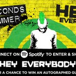 US #5SOSFAM! Enter to win a signed @5SOS guitar here: https://t.co/Dxlqy3jUnx 🎸🎸🎸🎸 https://t.co/IBgeDYSXtZ