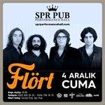 4 Aralıkta @flortmuzik konseri Eskişehir @SprPubEskde! RTleyen 2 üniversiteliye çift kişilik bilet hediye! https://t.co/xFBC3u1jGa