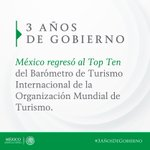 #3AñosDeGobierno México abre sus brazos a turistas de todo el mundo https://t.co/cThPKqCs3d