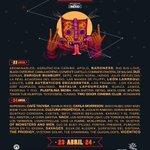 #YoVivoElVive con el póster de la decimoséptima edición del festival. Venta anticipada Banorte: 2 y 3 de dic. #VL16 https://t.co/f5yNhqAozM