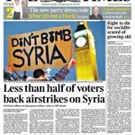 "Democracy update latest. Cameron says over half the population are ""terrorist sympathisers"". https://t.co/k0ezbQqvq4"