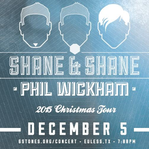 #Euless >> Shane & Shane music & after-party Sat Dec 5 $25 https://t.co/GeKlY4f0Jv @6stones https://t.co/hQCFbWyY6y