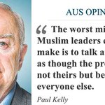 Honest discussion on Islam's role in terror is needed, writes Paul Kelly. https://t.co/6DNiVj01vk https://t.co/Iyri0zOvwl