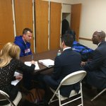 Pregame visit for @CoachScottCross with @LonghornNetwork. Tip at 7pm. #MavCity https://t.co/hYFJnMIAPI