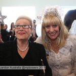 Bronwyn Bishop meets Fairy Sparkle at a function in #Parliament @murpharoo @GuardianAus #politicslive https://t.co/SrSjVciPAQ
