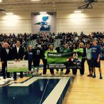 Congrats to Liberty High School who won our #12s4good pep assembly with @cliffavril @Seahawks keep up the good work! https://t.co/gkDVVKzGuW