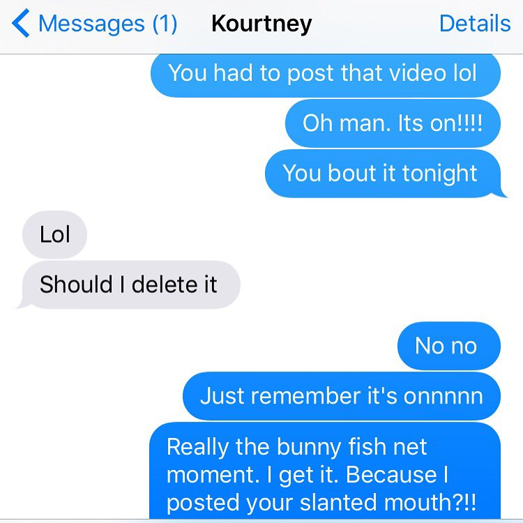 It's onnnnn @kourtneykardash! You think you bout it?!! https://t.co/N6bmynJyf2