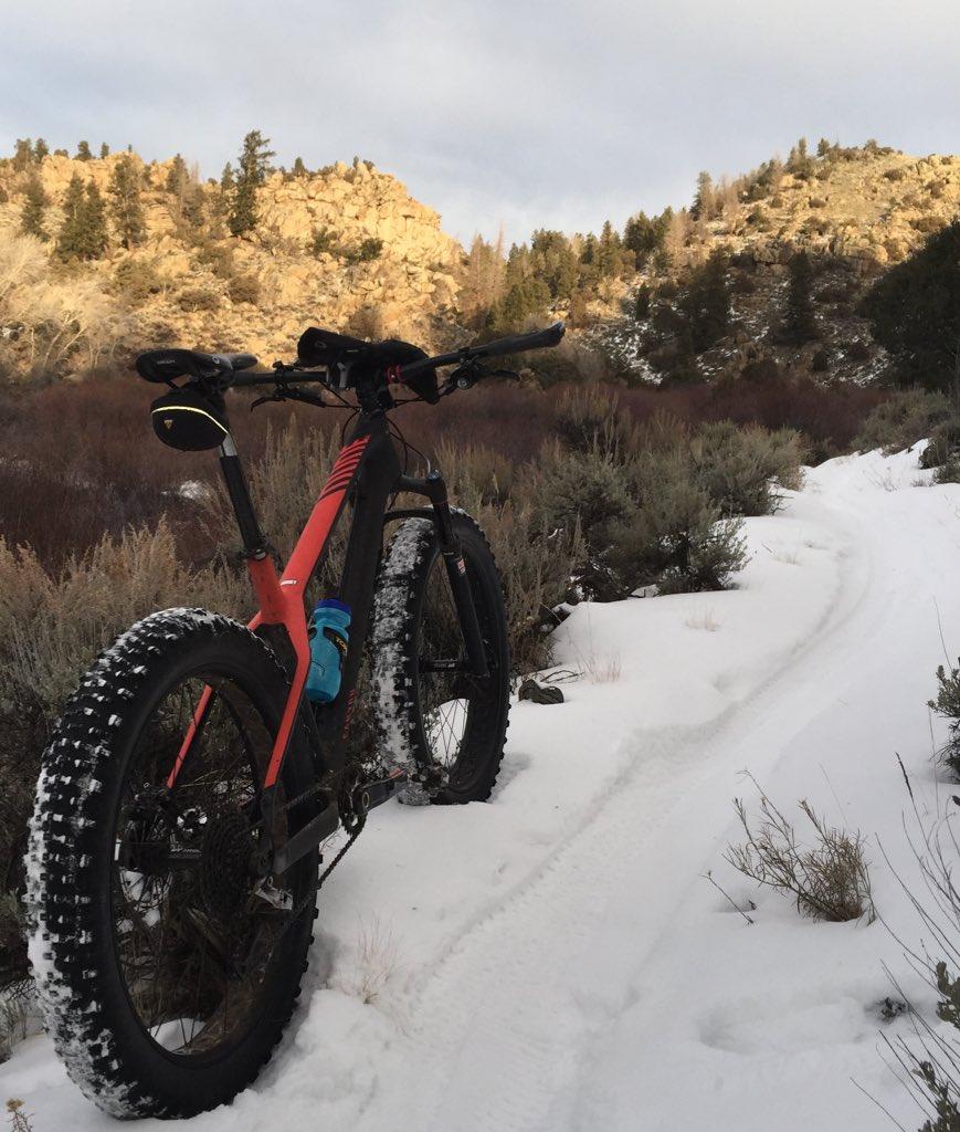 A little fat biking at Hartman Rocks near Gunnison, Colorado. @ErgonBike @canyon_bikes @SRAMmtb @TeamTopeakErgon https://t.co/VkYG87vj7X