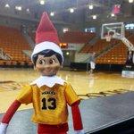 Beary the Elf is ready for the @MercerMBB game tomorrow at 7PM. #BringTheRoar #ElfOnTheShelf https://t.co/4hTq2L2OB7