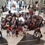 BREAKING: Activists stage a sit-in at Parliament House to call for action on climate change https://t.co/bsEuMVZ9XB