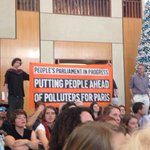 Putting people ahead of polluters in Paris #peoplesparliament https://t.co/liqoOMU3Bq