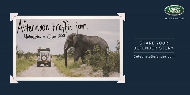 #AdoftheYear countdown: #4. #CelebrateDefender by Y&R South Africa for Land Rover https://t.co/deFjV8quUt https://t.co/qzAANuF8m4