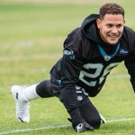 Watch @CortFinnegan in action during his first practice with the #Panthers ????: https://t.co/YnRVWFZHvl https://t.co/avDghGX4Sd