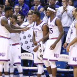 Dunks all around to make the bench go nuts! With under four to play, #kubball extends the lead to make it 85-54 https://t.co/wvaqkZrhqo