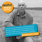 .@RobMcCreath says famers amongst the worst affected by climate change. https://t.co/IGk48zEEvL #PeoplesParliament https://t.co/RzUQbFI23B