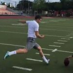 VIDEO: Alabama kicker commit sinks 77-yard FG in practice https://t.co/3bAMIDXKhF https://t.co/P8OfiBBoql