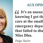 Does being white get you better healthcare than Miss Dhu? asks @paigeataylor https://t.co/lFNs5OlNyz https://t.co/bumZXXLkQO