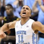 This is why we love college basketball. @UNC_Basketball goes 9-13 from deep & gets a HUGE win over #2 Maryland! https://t.co/tG2AfDxUWF