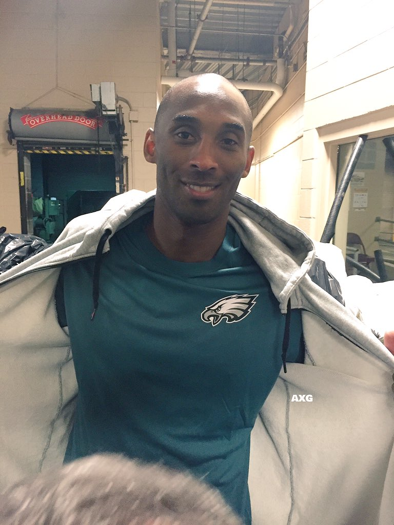 "@kobebryant says, ""I'm an @eagles fan, no matter what!"" https://t.co/6hhW7vw4Ji"