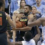 A rough start sent Maryland to its first loss of the season, 89-81 at No. 9 North Carolina. https://t.co/ocfptMqlWW https://t.co/WMDxte1i8H