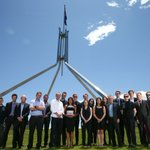 The wonderful @smh and @theage Parliament House bureau. Love working with these people, very proud of a big year https://t.co/iyXG5grOJr