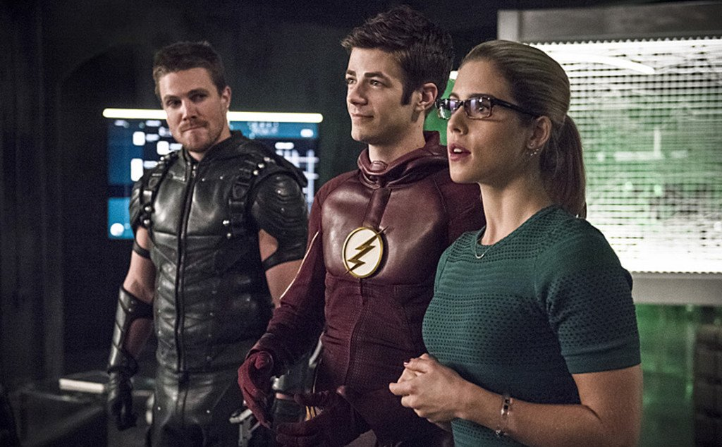 TheFlash-Arrow crossover's love story is just like a Channing Tatum movie: