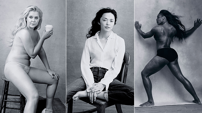 Pirelli 2016 calendar: outstanding professional, social, cultural, sporting & artistic women https://t.co/ueMaTgoDn0 https://t.co/gLaZYFmI4P