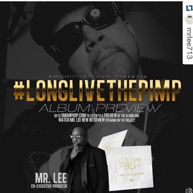 Go preview the new @TheRealPimpC album called #LongLiveThePimp on https://t.co/cGHnwTseD0 you're welcome! #XMG