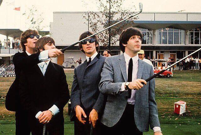 This Retro Indy photo showed up in my Facebook news feed yesterday, @317lindquist! #Beatles at @IMS! https://t.co/5p8HvedIiq