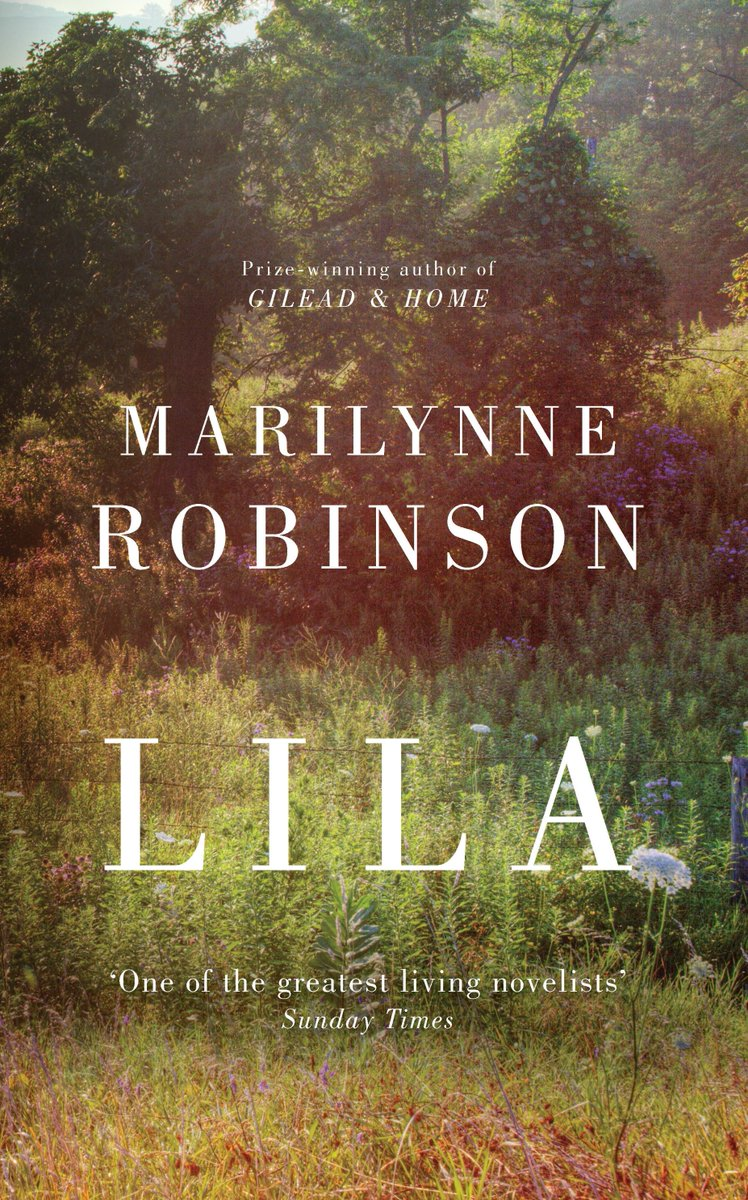 DAY2 of our 12 Books of Christmas comp! Flw & RT before 5pm to win Marilynne Robinson's Man Booker longlisted Lila https://t.co/7lpARTOmEj